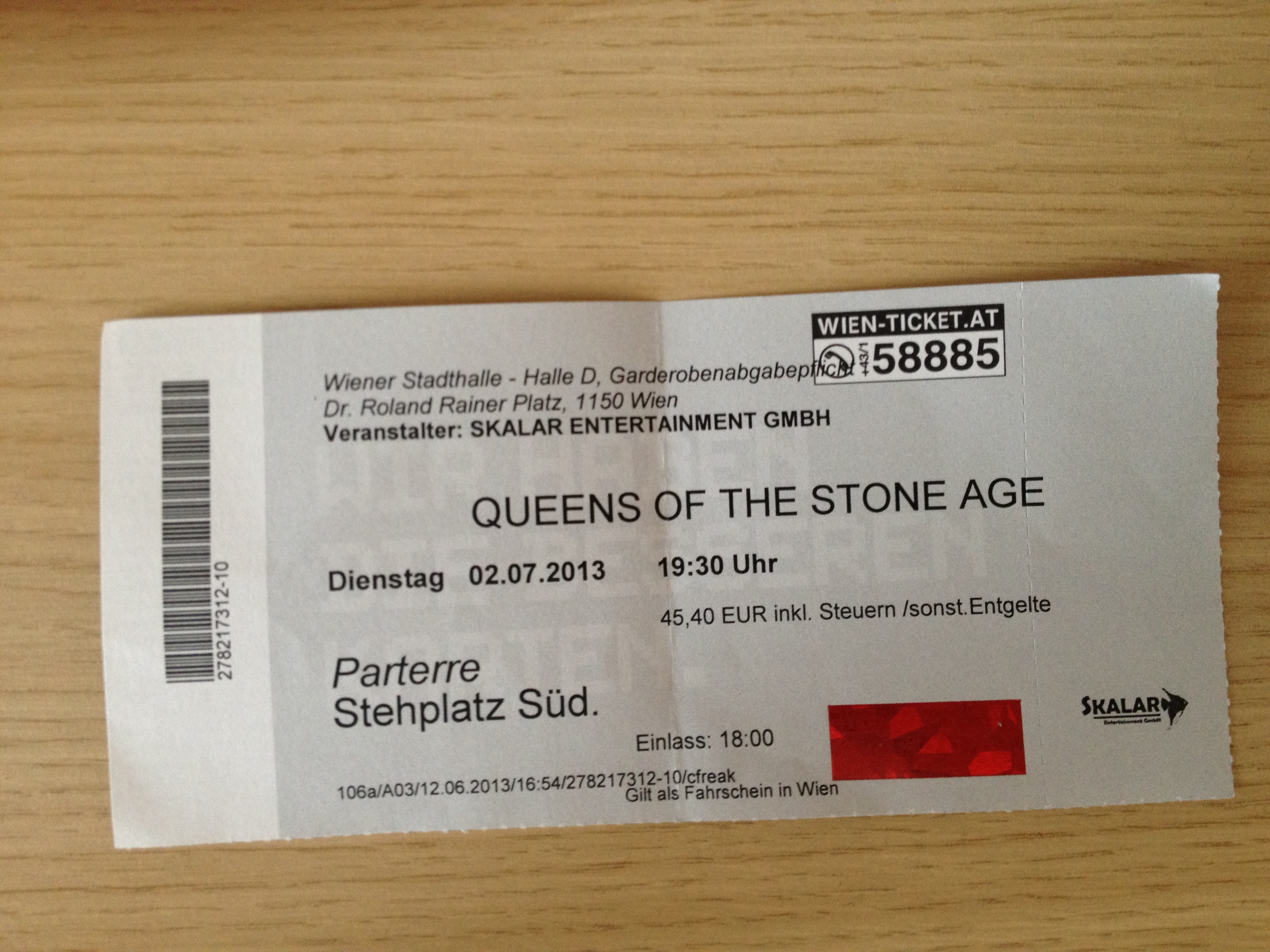 Queens Of The Stone Age – Dunaj, Wiener Stadthalle (2.7.2013)