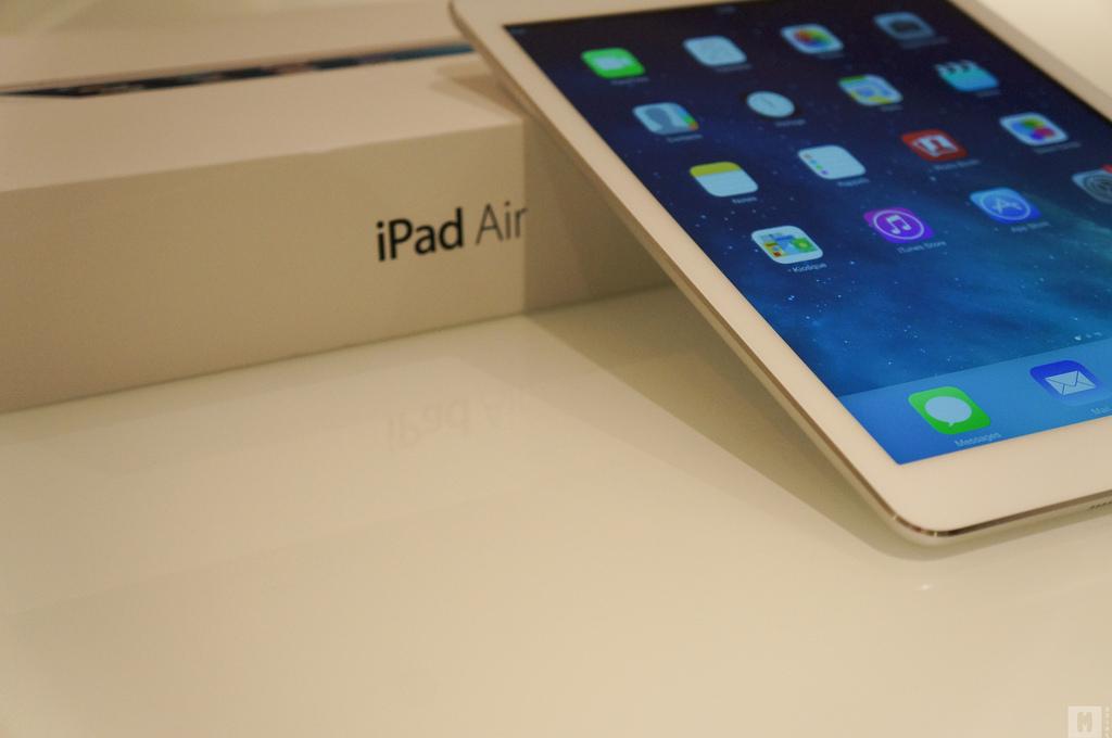 iPad Air – uporabniška izkušnja