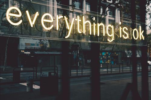 Vse je v redu!