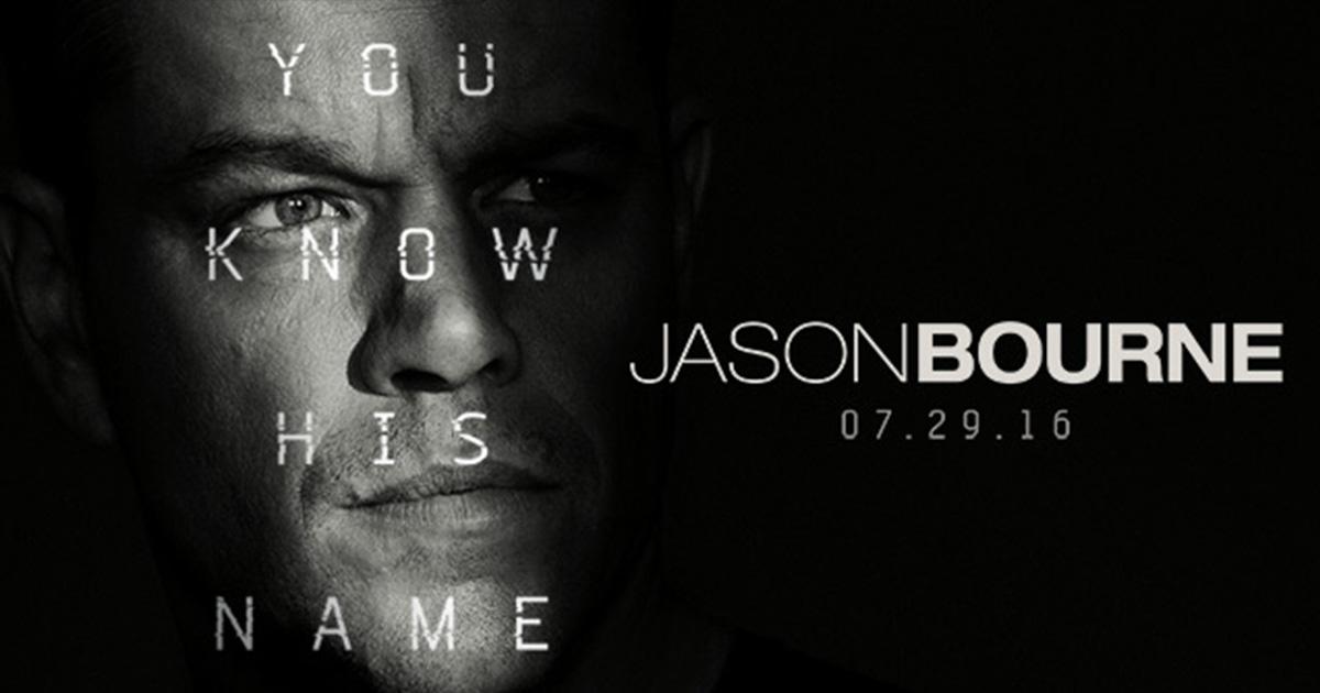 Jason Bourne se vrača