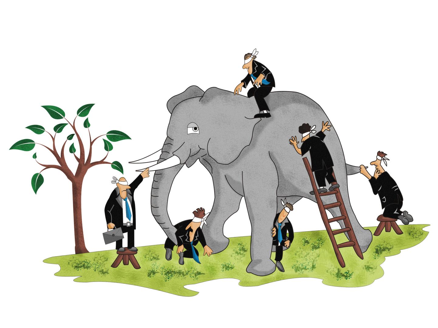 Medijska pismenost: Slepci in slon