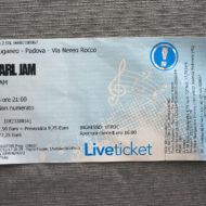 Pearl Jam - Padova, Stadium Euganeo (25.6.2018)