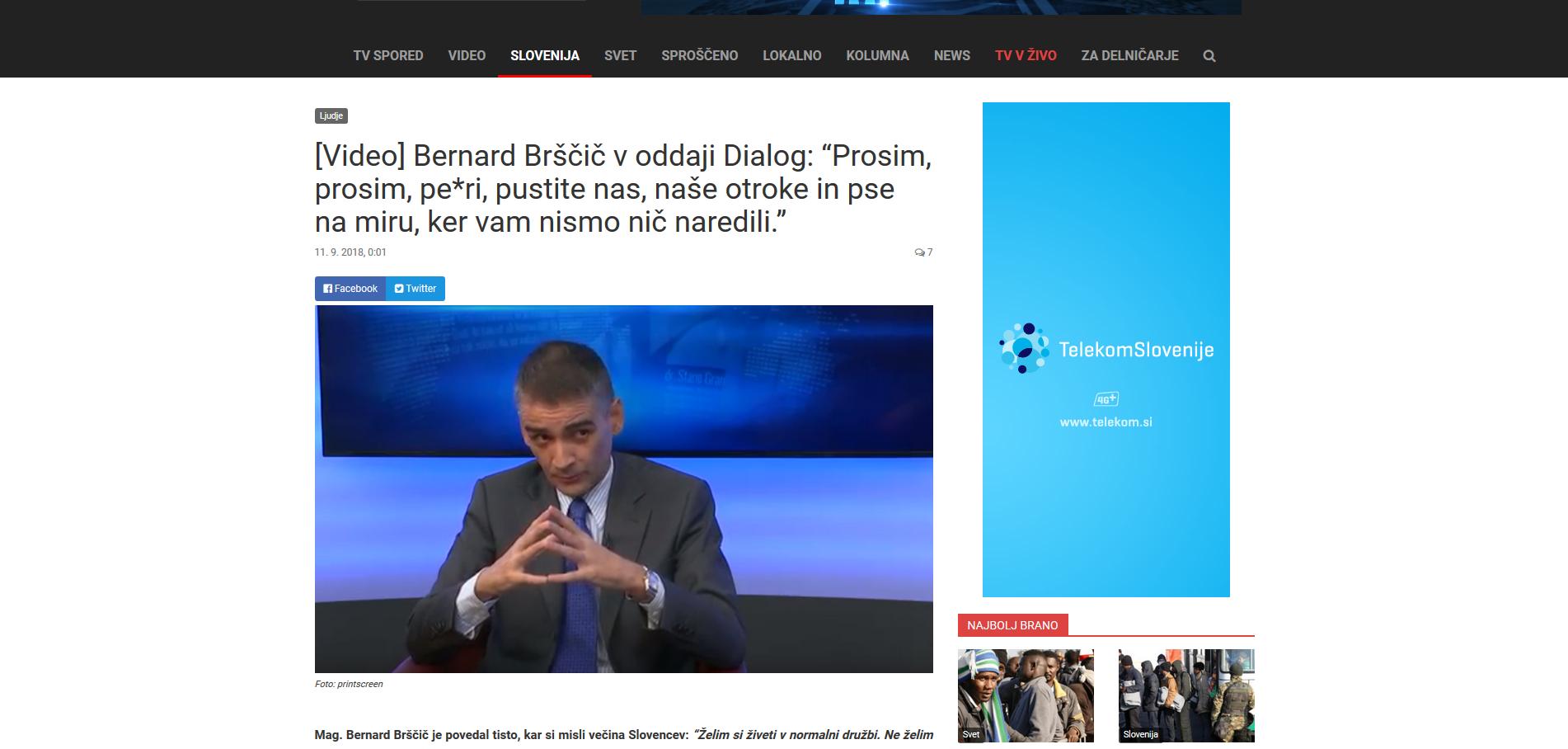 Telekom Slovenije, nehaj financirati sovraštvo