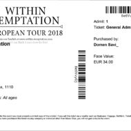 Within Temptation – Dunaj, Gasometer (13.12.2018)