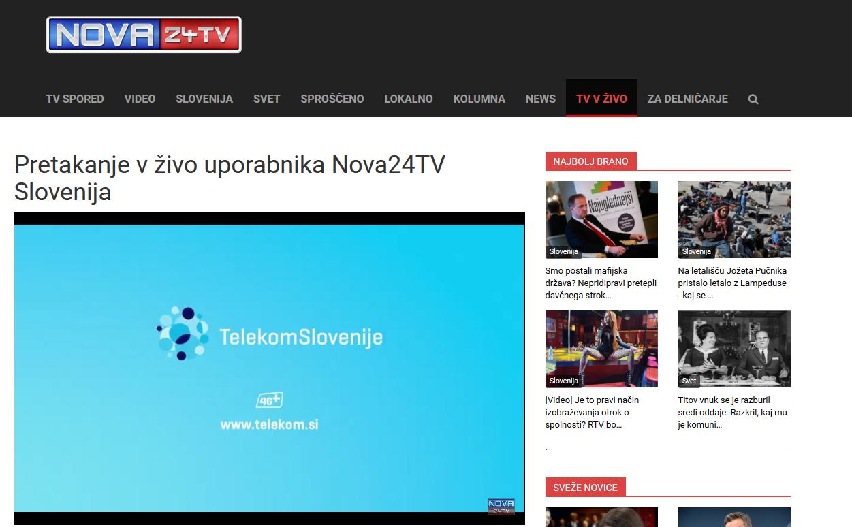 Telekom Slovenije: Zakaj oglašuješ na vsebinah sovraštva?