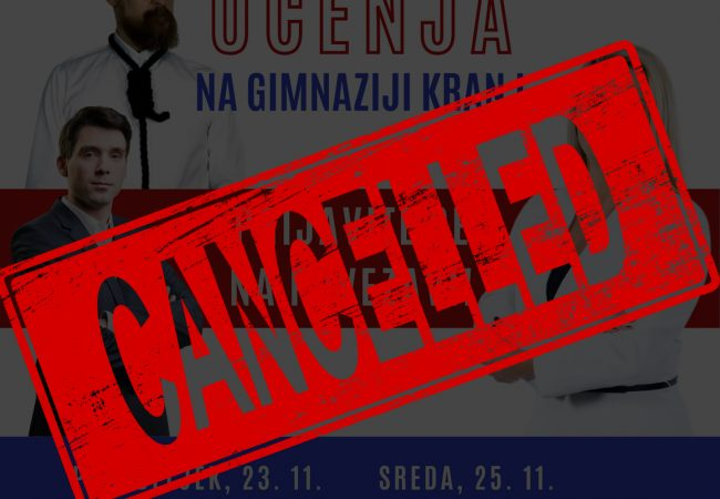 """Cancel culture"" in kranjska gimnazija"