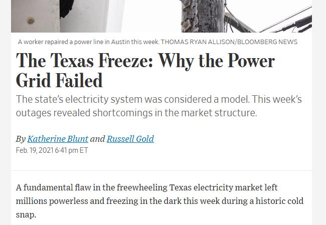 Teksas in zelena energija ter laži ameriške desnice